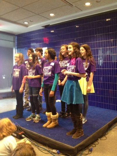 Brooklyn Children's Theatre   BCT Performs at Grand Opening